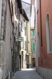 Como, Italy. A narrow alley in old town Como, Italy Stock Image
