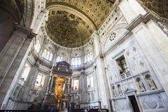 Como, Italy. Como Cathedral Cattedrale di Santa Maria Assunta, Duomo di Como, commonly described as the last Gothic cathedral built in Italy Stock Image