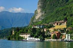 como jeziora menaggio Fotografia Royalty Free