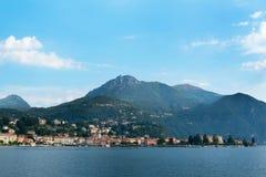 Como jeziora wybrzeże, Włochy Zdjęcie Stock