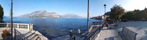 Como Lake north Italy stock images