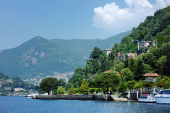 Como lake Royalty Free Stock Image