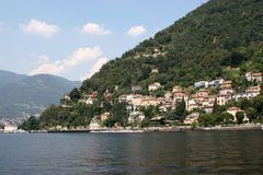Como Lake Royalty Free Stock Photos