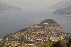 Como Lake Royalty Free Stock Photo