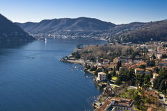 Como Lake - Cernobbio - Villa d'Este - Landscape Royalty Free Stock Photography