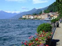 Como lake, italy royalty free stock photos