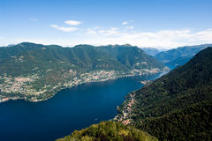 Como lake in Italy Stock Photos