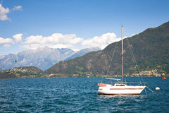 Como lake, Italy Royalty Free Stock Images