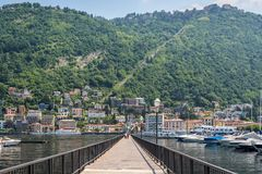 Como lake in Italy Royalty Free Stock Photo