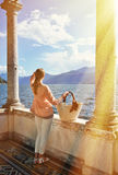 Como lake, Italy Stock Photo