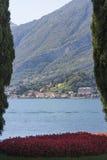 Como Lake, Lombardy, Italien royaltyfri foto