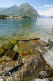 Como lake in northern Italy Stock Photos