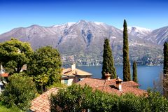 Como lake scenery Royalty Free Stock Photography