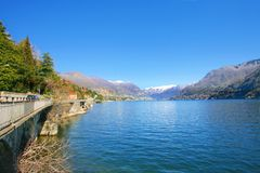 Como lake scenery Royalty Free Stock Images