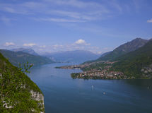 Como and Lecco lake Royalty Free Stock Photography