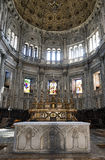 Como Lombardy, Italy cathedral interior Royalty Free Stock Photos