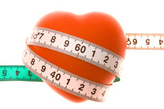 Como medir o amor Fotografia de Stock Royalty Free