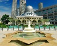 Como a mesquita de Syakirin Imagens de Stock Royalty Free