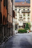 Como, Milan, Italy. Street view of old italian town Como, Milan, Italy royalty free stock images