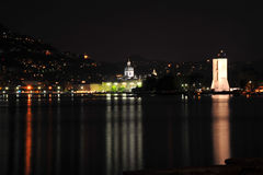 Como night city view Royalty Free Stock Photos