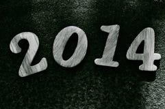 2014, como o ano novo Fotografia de Stock Royalty Free