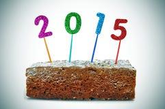 2015, como o ano novo Imagem de Stock