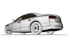 Como o carro é projetado Fotografia de Stock