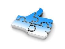 Como o símbolo Fotos de Stock Royalty Free