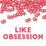 Como a obsessão Imagem de Stock
