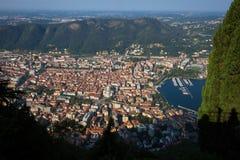 Como Panoramic View Royalty Free Stock Photos