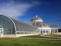 Como park conservatory in Minnesota Royalty Free Stock Photos