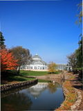 Como park conservatory vertical view Stock Photography
