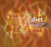 Como quente está sua dieta Foto de Stock Royalty Free