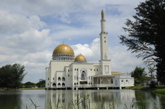 Como Salam Mosque em Selangor foto de stock