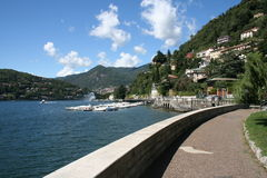 Como town Lake Como Royalty Free Stock Photos
