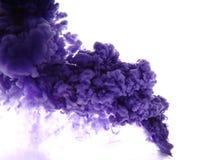 Como um fumo azul Imagens de Stock