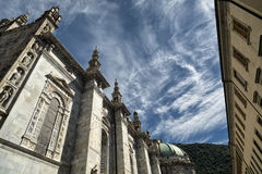 Como & x28 Λομβαρδία, Italy& x29: Καθεδρικός ναός Στοκ εικόνες με δικαίωμα ελεύθερης χρήσης