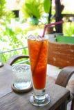 Comodidad helada del frío del té Foto de archivo