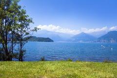 comoitaly lake Arkivfoto