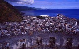 Comores: Das Citadelle in Moutsamoudou auf Anjouan-Insel lizenzfreie stockfotos