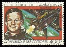 Aviation History, Neil Armstrong Stock Photography