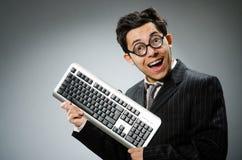 Comouter geek Stock Photo