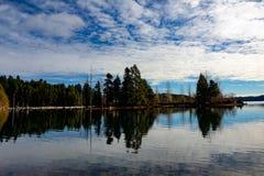 Comoxmeer, het Eiland van Comox Valley~Vancouver, BC, Canada Stock Foto's