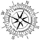 Compás de Grunge ilustración del vector
