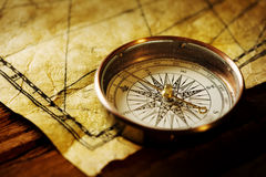 Compás de la navegación Imagen de archivo