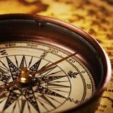 Compás de la navegación Foto de archivo libre de regalías
