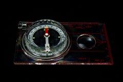 Compás de Orienteering Fotografía de archivo