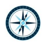 Compás del ` s del marino El viento se levantó Equipo náutico Imagenes de archivo