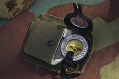 Compás militar Fotos de archivo