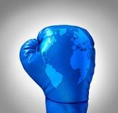 Compétition globale Image libre de droits